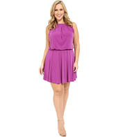Christin Michaels - Plus Size Sloane Dress with Flare Skirt