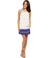 Brigitte Bailey - Ivana High Neck Printed Dress