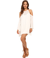 Brigitte Bailey - Elora Bell Sleeve Open Shoulder Dress