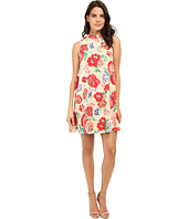 Brigitte Bailey - Kora Mock Neck Floral Print Dress