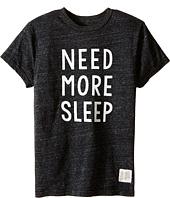 The Original Retro Brand Kids - Need More Sleep Short Sleeve Tri-Blend Tee (Big Kids)