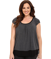 DKNY - Plus Size Urban Essentials Short Sleeve Top