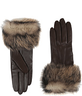 UGG - Three Point Long Toscana Trim Leather Smart Gloves