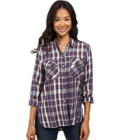 Roxy - Sunday Funday Plaid Button Up Top