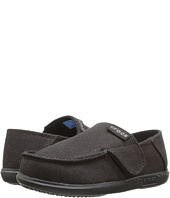 Crocs Kids - Santa Cruz Canvas Loafer (Toddler/Little Kid)