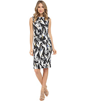 Nicole Miller - Hummingbird Cotton Metal Sheath Dress