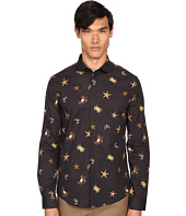 Versace Collection - Sea Creature Long Sleeve Button Up