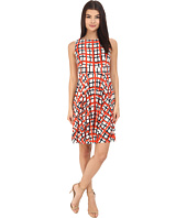 Donna Morgan - Sleeveless Printed Jersey with Circle Skirt