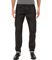 The Unbranded Brand - Tapered Jeans in Black Selvedge