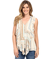 Miraclebody Jeans - Farah Cascade Front Blouse w/ Body-Shaping Inner Shell