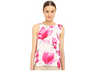 All Over Printed/Solid Color Viscose Top