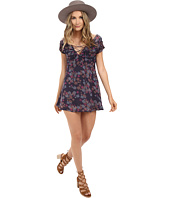 Free People - Yours Truly Printed Mini Dress