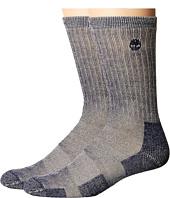 Timberland - Heavy Weight Wool Crew 2-Pack Socks