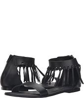 Massimo Matteo - Ankle Strap Fringe Sandal