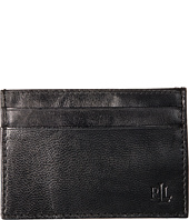 LAUREN Ralph Lauren - Burnished Card Case w/ Money Clip