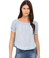 See by Chloe - Striped Cotton Voile Off the Shoulder Blouse