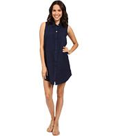 Allen Allen - Linen Sleeveless Dress