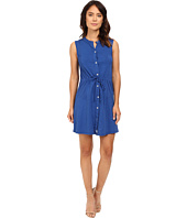Mod-o-doc - Slub Jersey Button Front Tank Dress