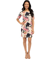Nally & Millie - Elbow Sleeve Floral Dress