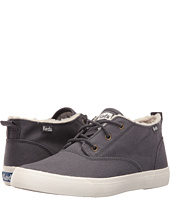 Keds - Triumph Mid Brushed Canvas with Faux Shearling