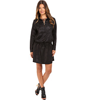 The Kooples - Leather Effect Dress