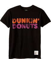 The Original Retro Brand Kids - Vintage Cotton Dunkin Donuts Short Sleeve Tee (Little Kids/Big Kids)