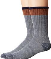 Timberland - Rugged Crew 2-Pack Socks