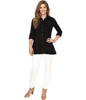 Mod-o-doc - Slub Jersey Button Front Tunic Top