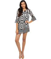 Brigitte Bailey - 3/4 Length Bell Sleeve Shift Dress