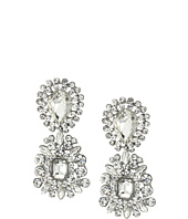 Nina - 2 Part Crystal Cluster Hanging Earrings