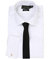 LAUREN Ralph Lauren - Pinpoint Spread Collar Slim Shirt w/ French Cuff