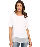HEATHER - Silk Lined Tee