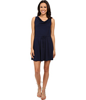 Michael Stars - Drape Front Tie Waist Dress