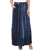 NIC+ZOE - Fountain Handpainted Maxi Skirt