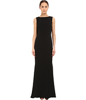 Marchesa Notte - Crepe Gown w/ Cowl Back