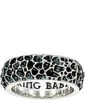 King Baby Studio - Lava Rock Textured Band Ring