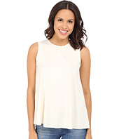 Three Dots - Keiko Sleeveless Drape Tank Top