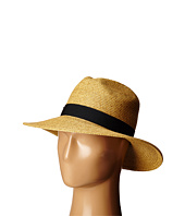 SCALA - Paper Braid Big Brim Fedora