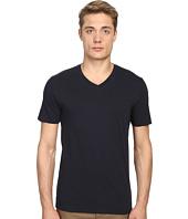 Vince - Short Sleeve Pima Cotton V-Neck Shirt