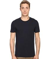 Vince - Short Sleeve Pima Cotton Crew Neck Shirt