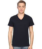 Vince - Short Sleeve Slub V-Neck Shirt