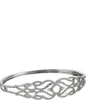 Nina - Micro Pave Swirl Cuff Bracelet