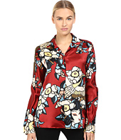 DSQUARED2 - Fantasy Printed Silk Pajama Shirt