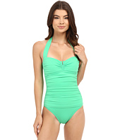 Tommy Bahama - Pearl V-Front Halter Cup One-Piece