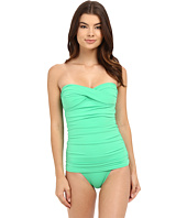 Tommy Bahama - Pearl Twist Front Bandeau One-Piece