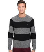 Original Penguin - Wide Stripe Crew Neck Sweater