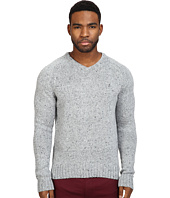 Original Penguin - Saddle Raglan Donegal V-Neck Sweater