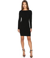 Versace Collection - Long Sleeve Knit Boat Neck Dress