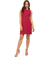 Donna Morgan - Crepe Fit and Flare Dress with Faggoting
