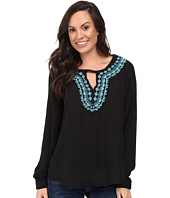 Stetson - Poly Crepe Peasant Blouse